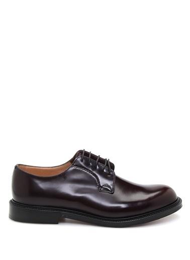%100 Deri Bağcıklı Klasik Ayakkabı-Church's